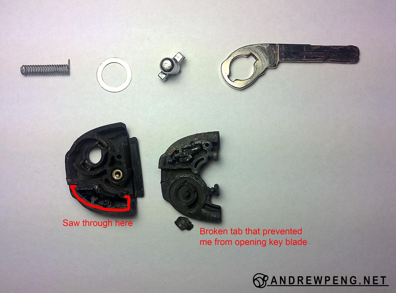 Volvo Flip Key Repair Andrew Peng