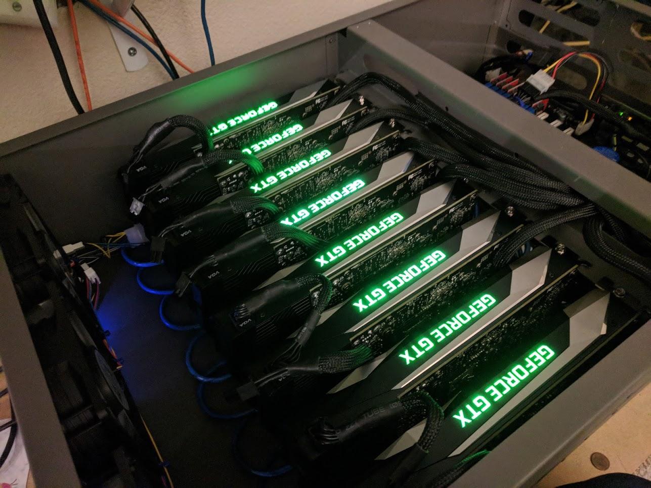 Ready To Run 8-GPU Compute Node – ANDREW PENG